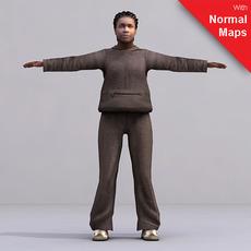 aXYZ design - CWom0023-FBX / FBX Rigged Models for Motionbuilder 7.0 FBX 3D Model