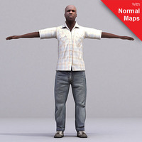 aXYZ design - CMan0024-FBX / FBX Rigged Models for Motionbuilder 7.0 FBX 3D Model