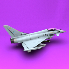 Typhoon Germany 3D Model