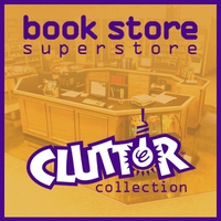 !Clutter Collection - Book Store Superstore 3D Model