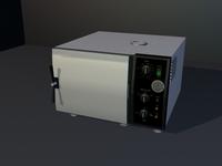 Autoclave 3D Model