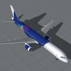 B-757-200-Titan-2 3D Model