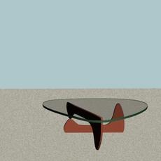 Artistic Glass Table 3D Model
