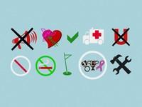 10 Symbols 3D Model