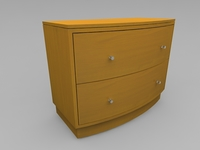 Drawer Chest 3D Model