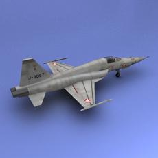 F-5 3D Model