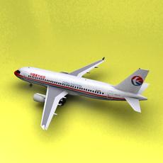 A-320 China 3D Model