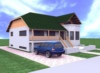 Gix's House 3D Model