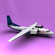An-24 3D Model