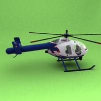 MD-500 3D Model