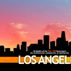 TowerPack Los Angeles 3D Model