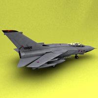 Tornado RAF 3D Model
