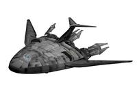 Babylon-5 EA_shuttle 3D Model