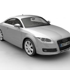 2007 Audi TT 3D Model