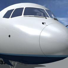 B-757-200-JetBlue 3D Model