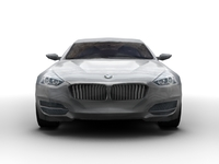BMW CS Concept (Low-Poly) 3D Model