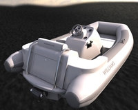Williams Turbojet Tender 3D Model