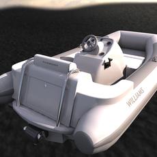 Williams Turbojet Tender 3D Model