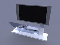 tv bench 3D Model