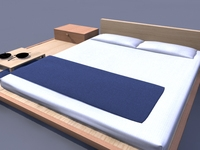 bedroom set 3D Model