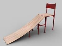 skate_ramp 3D Model