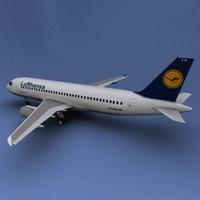 Airbus 320 lufthansa 3D Model