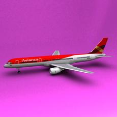 Boeing 757 Avianca 3D Model