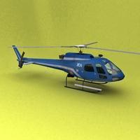 AS-350 3D Model