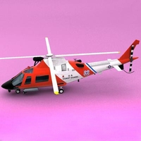 MH68-A Stingray 3D Model
