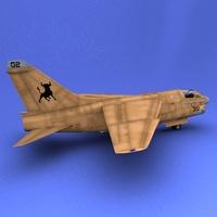 A-7 3D Model