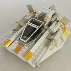 Block SnowSpeeder 3D Model