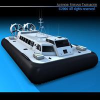Hovercraft 3D Model