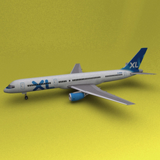 Boeing 757 XL 3D Model