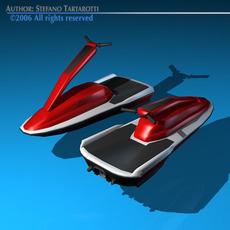 Waterbike 3D Model