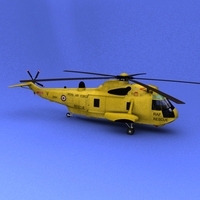 Sea King HAR3A 3D Model
