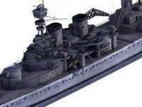 Battleship 3D Model