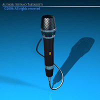 Microphone 3D Model