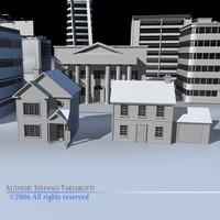 City pack 1 3D Model