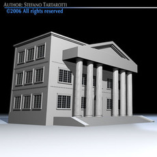 Public building 3D Model