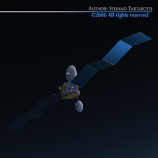 Scientific research satellite 3D Model