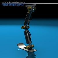 Robot leg 3D Model