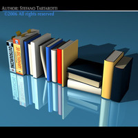 Books new 3D Model