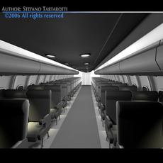 Interior plane 2 3D Model