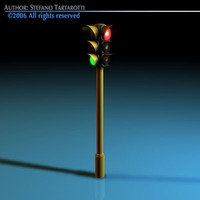 Traffic lights 3D Model