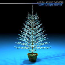Christmas crystal tree 3D Model