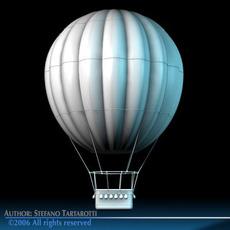 Fantasy montgolfiere 3D Model