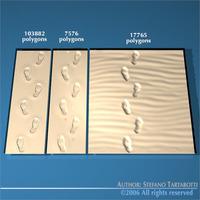 Foot prints2 3D Model