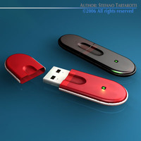 Usb Key 3D Model