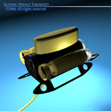 Mini ROV 3D Model