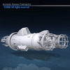 Spaceship engines 2 3D Model